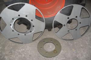 Laser Cut Wheel Centers