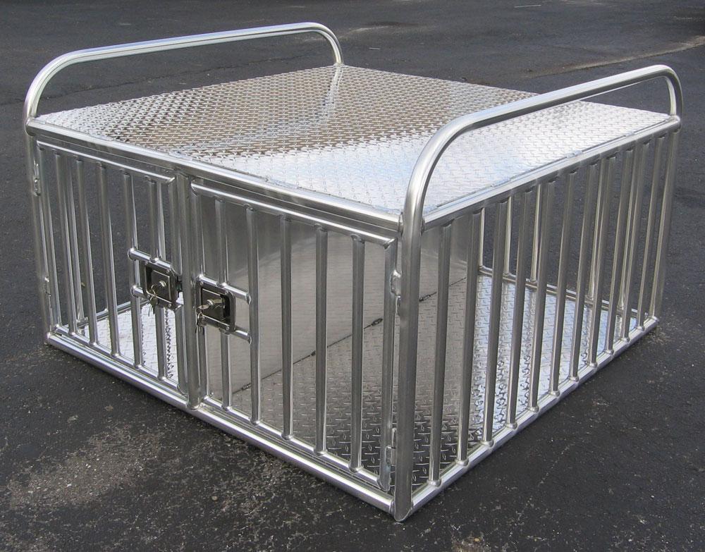 Aluminum: Used Aluminum Dog Boxes