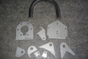 Complete Line of 4-Link Brackets, Axle Tabs, Shock Mounts,  and Shock Towers