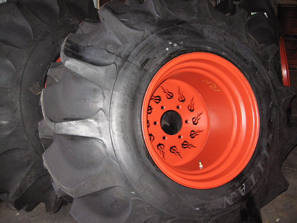 Part Section: Wheels and Tires