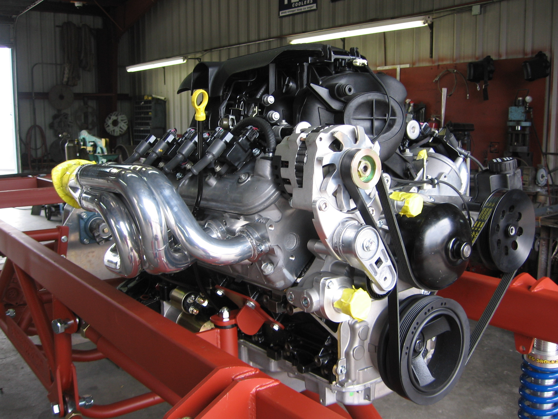 Part Section: Engines and Components