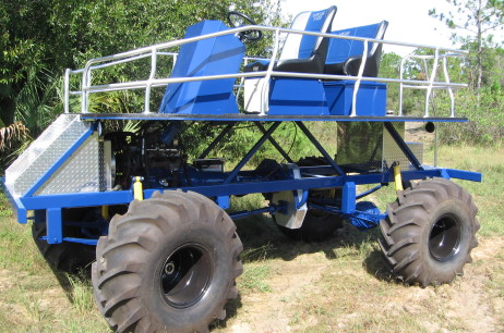 Blue 1-ton Swamp Buggy