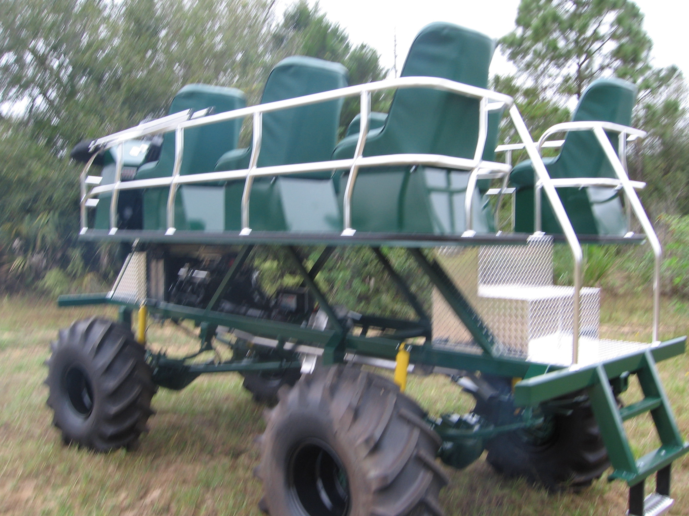 Green Swamp Buggy | Swamp Buggies of